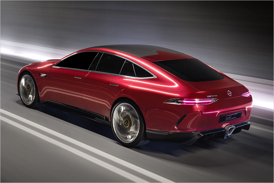 Mercedes Amg Gt Concept Previews Panamera Fighter