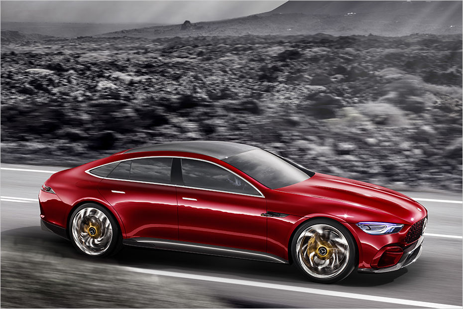 Mercedes-AMG GT Concept previews Panamera fighter ...