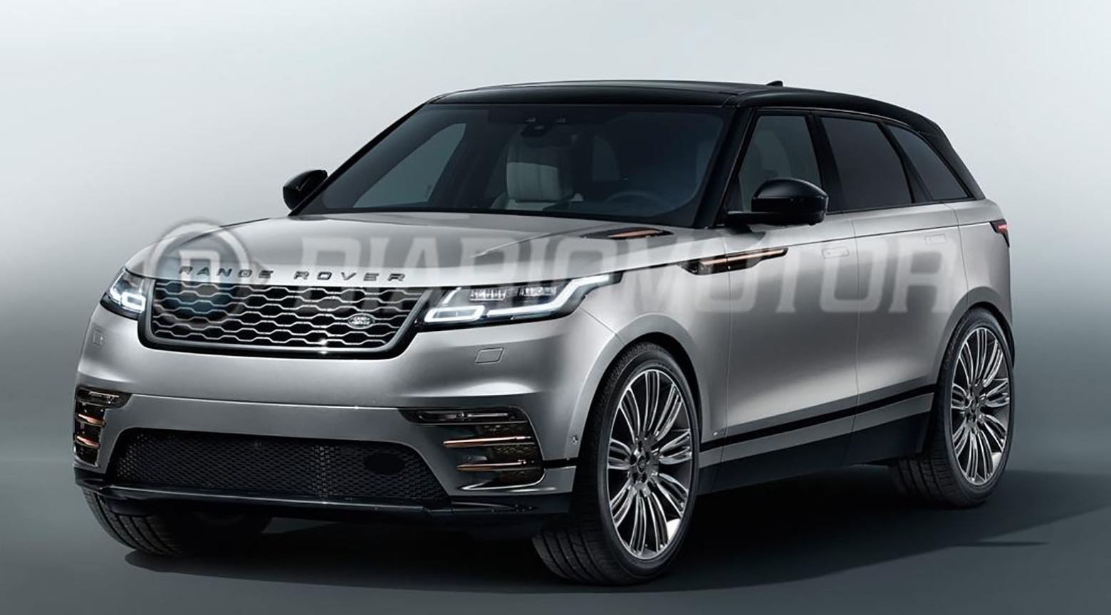 new range rover velar revealed in leaked images. Black Bedroom Furniture Sets. Home Design Ideas