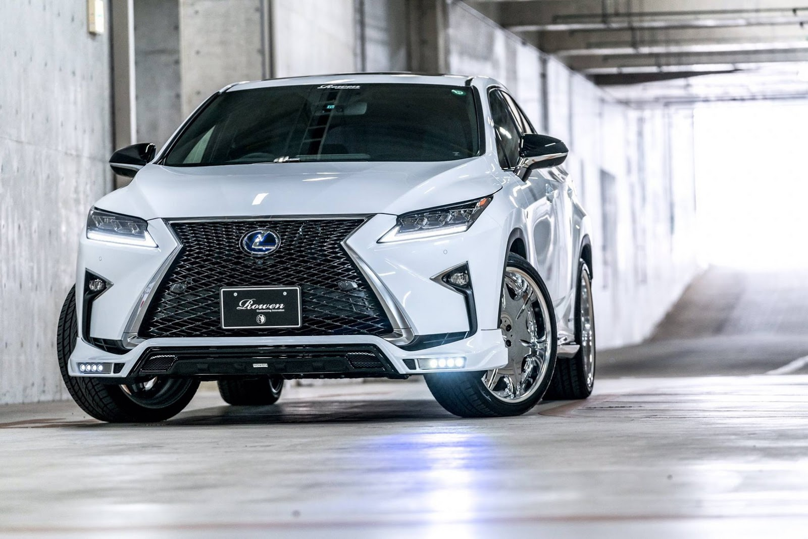 While the latest Lexus RX SUV is arguably one of the most stylish of ...