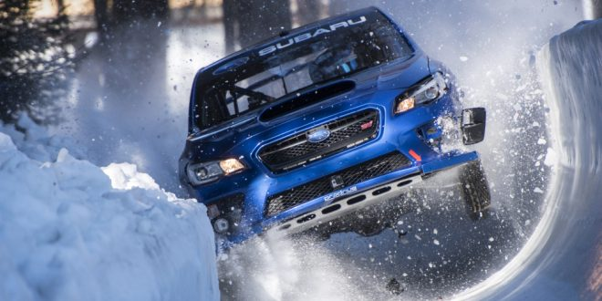 Boxersled! Subaru WRX STI vs an Olympic Bobsled Run [video]