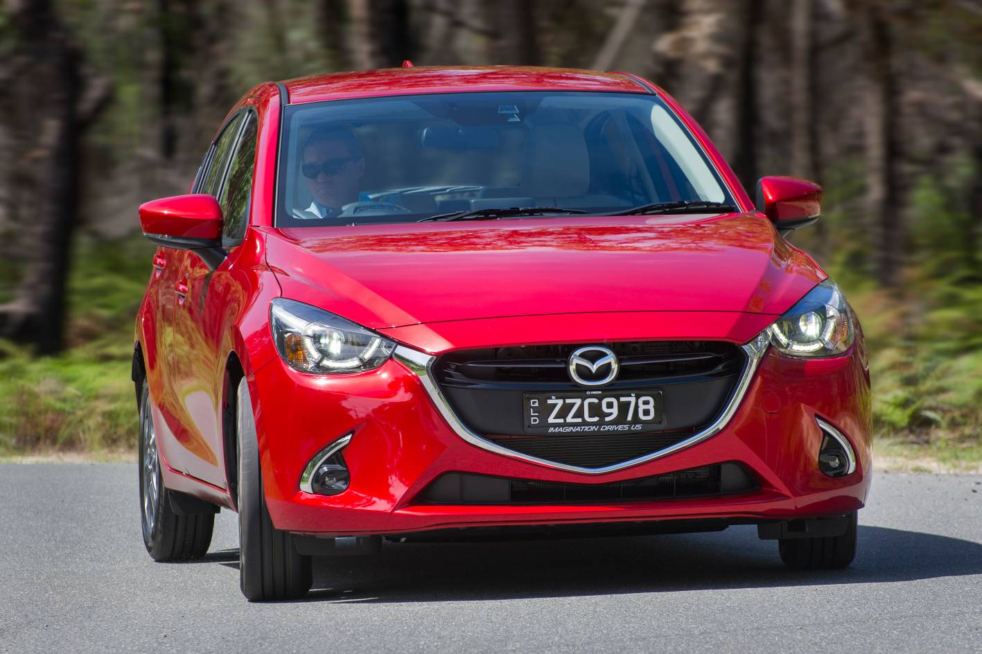 2017 mazda2 gets segment first safety upgrade. Black Bedroom Furniture Sets. Home Design Ideas