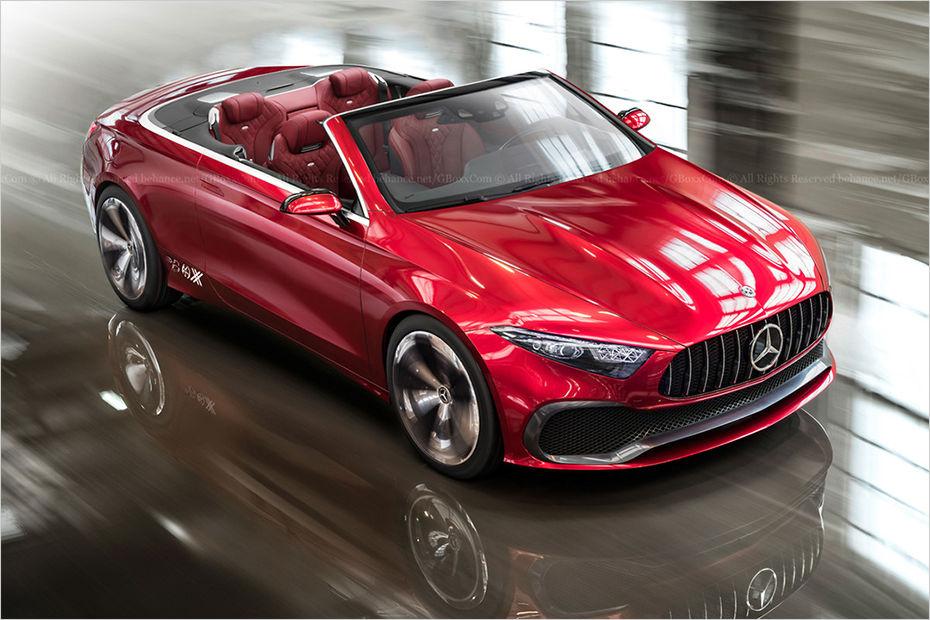 Mercedes benz mulling a class convertible for Compact mercedes benz crossword