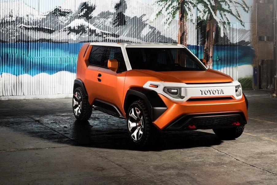 Toyota Ft 4x Concept Hints At New Fj Cruiser Forcegt Com