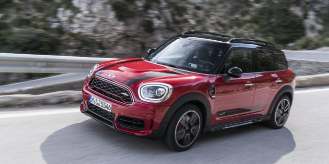 2017 MINI John Cooper Works Countryman pricing and specification