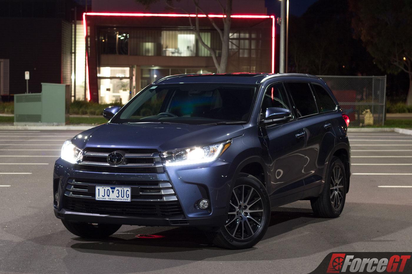 2017 Toyota Kluger Grande Awd Review Forcegt Com