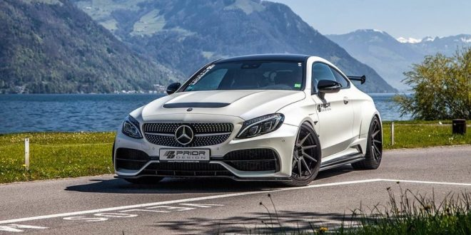 Prior Design unleashes widebody kit for Mercedes C-Class Coupe