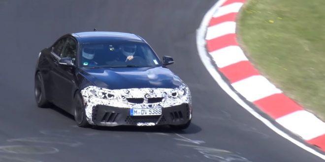 Video: BMW M2 CS puts to its paces at Nürburgring