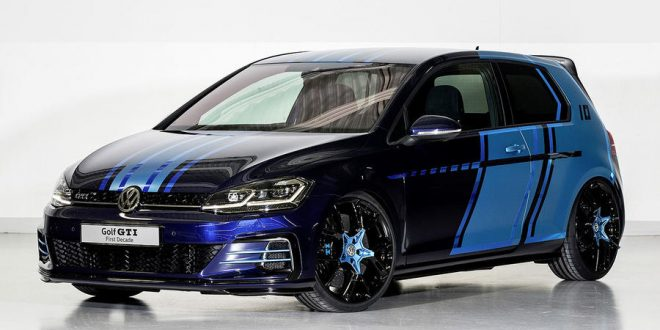 "Volkswagen Golf GTI hybrid ""First Decade"" Edition hits Wörthersee"