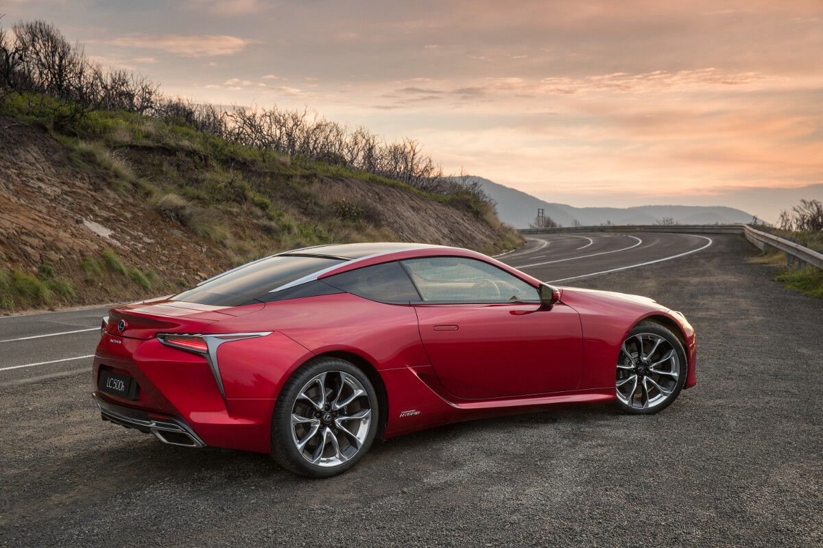 new car launches australiaLexus LC coupe launched in Australia  Price and Specification