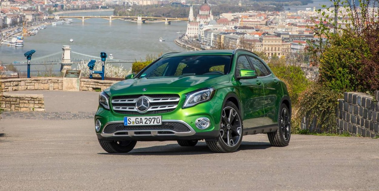 revised styling and specification for 2018 mercedes benz gla range. Black Bedroom Furniture Sets. Home Design Ideas