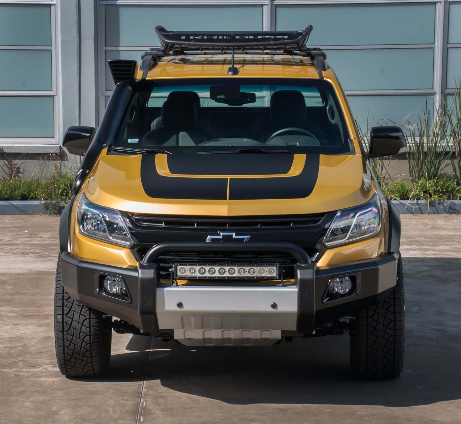Chevrolet S10 Trailboss Concept Looks Ready To Go Offroad
