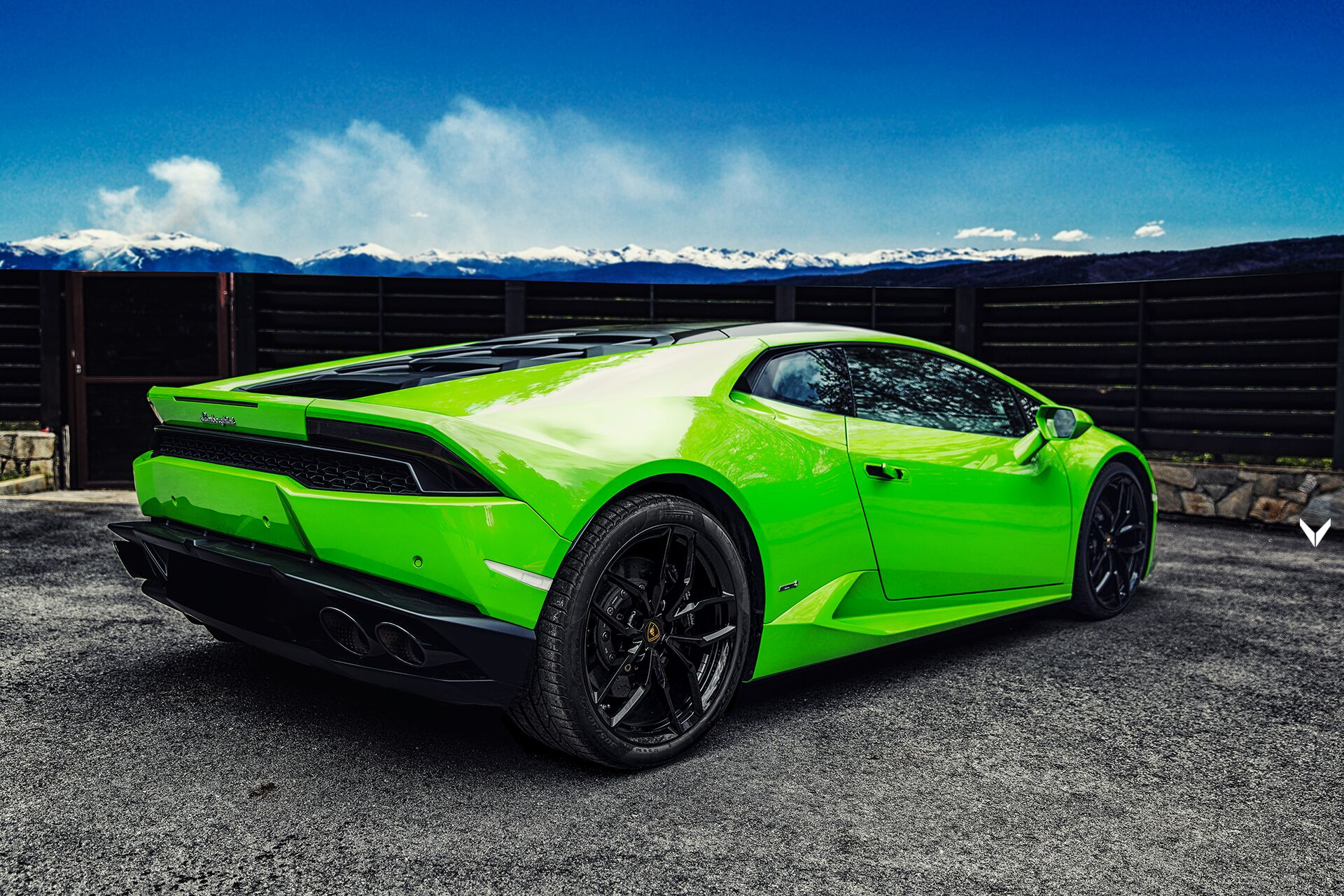 Vilner Gives Lamborghini Huracan S Interior A Quot Verde