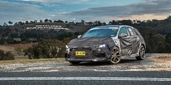 Video: 2018 Hyundai i30 N prototype tackles Mount Panorama, Bathurst