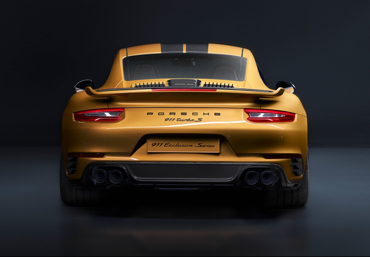 Limited Edition Porsche 911 Turbo S Exclusive 500 Units