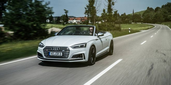 ABT boosts 2017 Audi S5 Cabriolet to RS5-level of performance