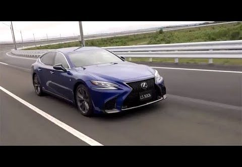 Lexus LS semi-autonomous driving demonstrated in new video