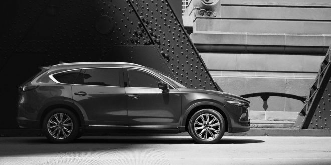Mazda CX-8 three-row crossover unveiled