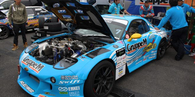 Japan's D1 Grand Prix Rotary Powered Monsters