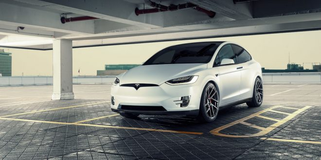 Tesla Model X gets the Novitec treatment