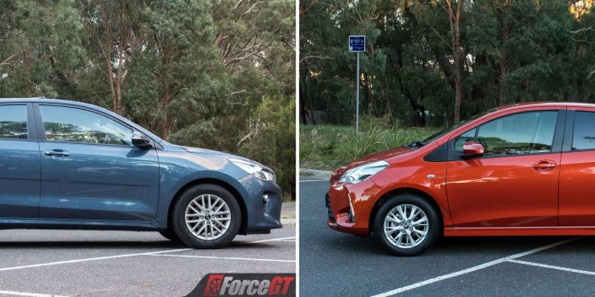 Light Car Comparison: 2017 Kia Rio vs 2017 Toyota Yaris Review
