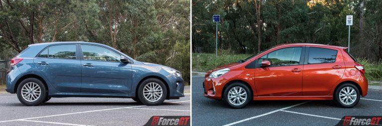 Light Car Comparison 2017 Kia Rio Vs 2017 Toyota Yaris
