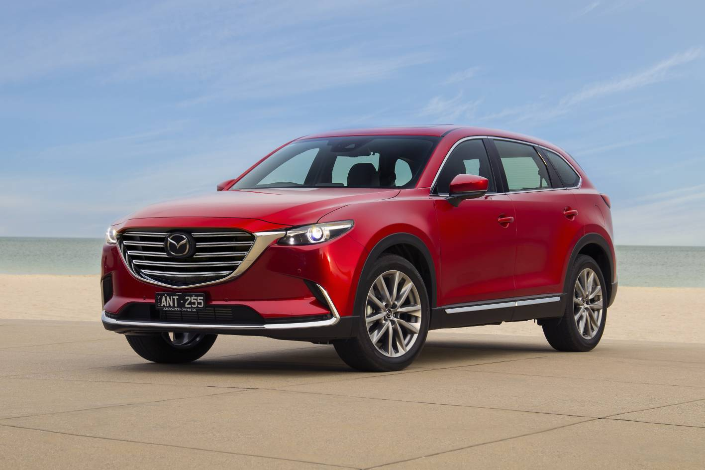 mazda cx 9 refined with g vectoring control and added features. Black Bedroom Furniture Sets. Home Design Ideas