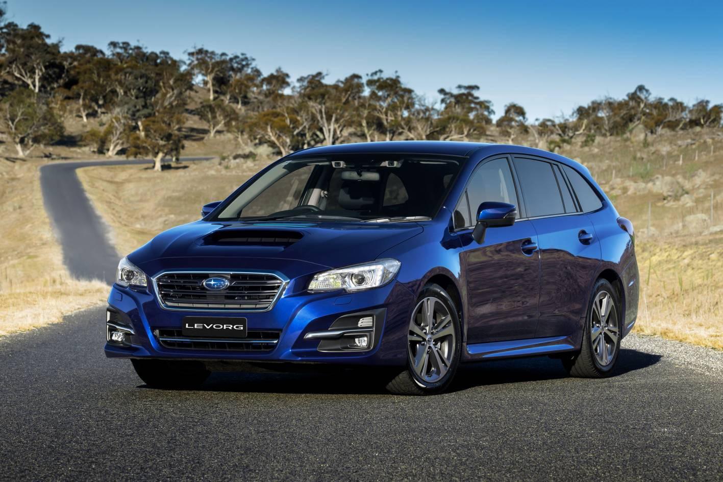 Subaru Levorg 1 6l Turbo Added As New Range Opener