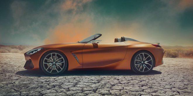 Stunning BMW Z4 Concept unveils a glimpse at future design