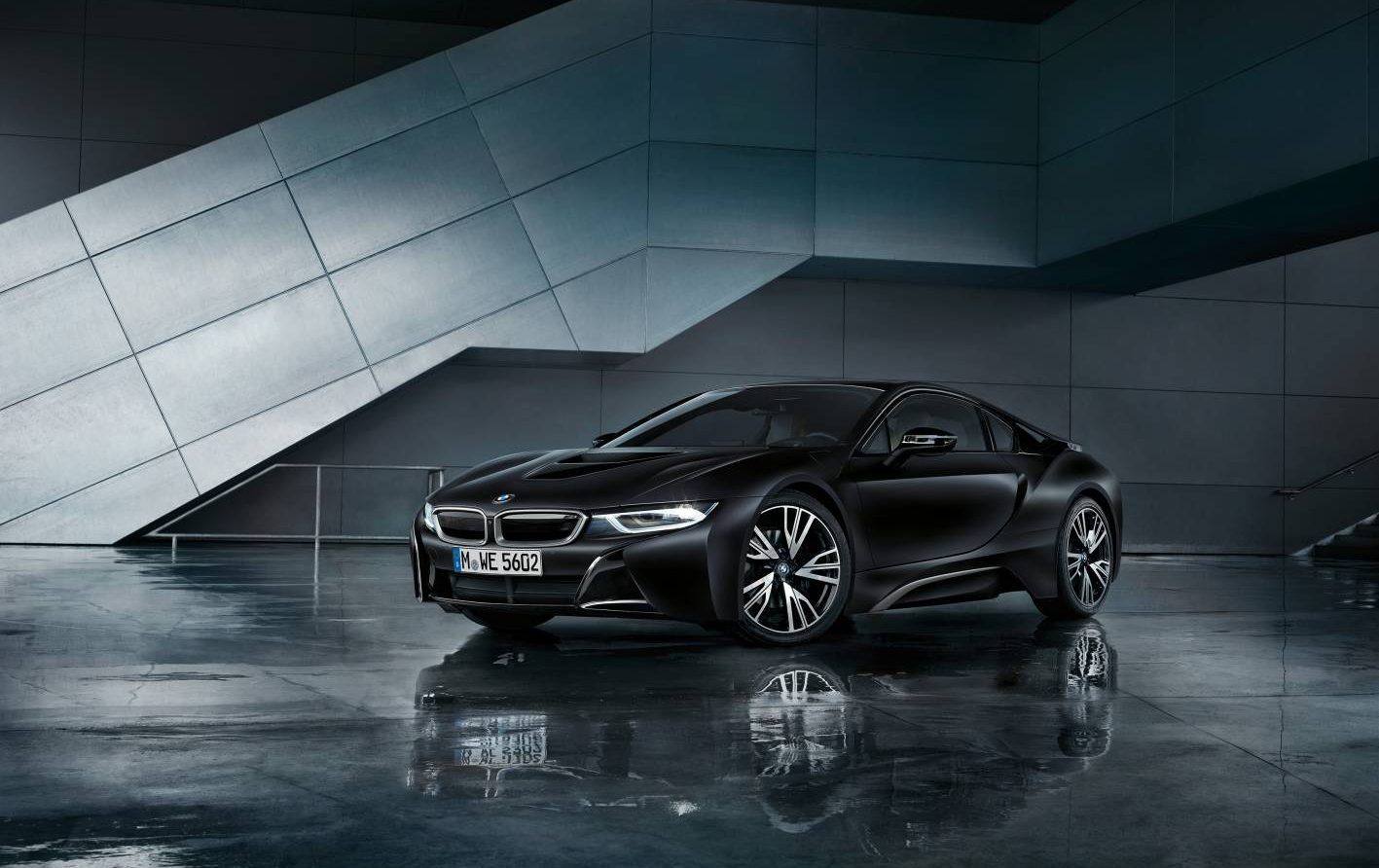 Bmw I8 Gains Limited Edition Protonic Frozen Black Frozen Yellow