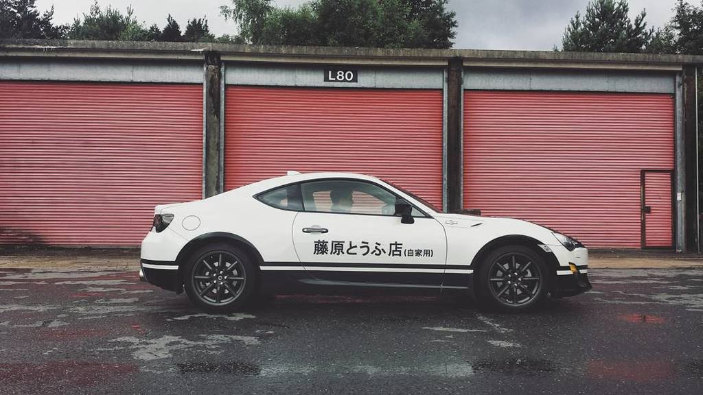 Toyota 86 Livery >> Toyota UK creates GT86 Initial D concept - ForceGT.com