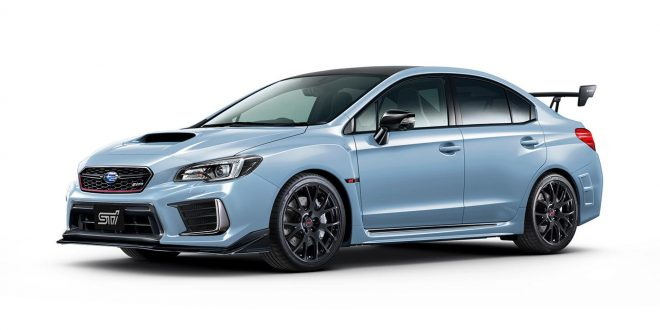 Subaru unveils JDM-only limited edition WRX STI S208
