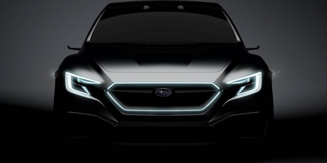 Subaru VIZIV Performance Concept previews next-gen WRX / WRX STI