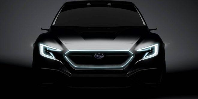 Subaru VIZIV Performance Concept previews next-gen WRX / WRX STI