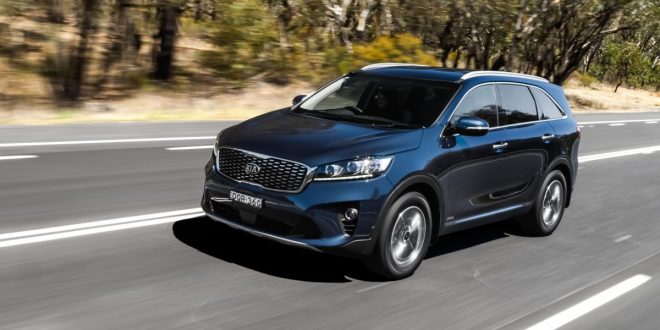 Updated 2018 Kia Sorento gains new 8-speed box and safety features