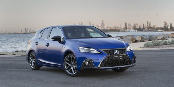 Lexus adds style, features and safety to CT 200h hybrid hatch