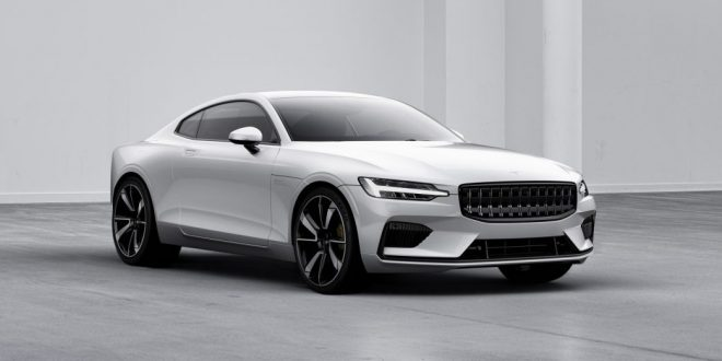 Volvo's Polestar goes electric performance with Polestar 1