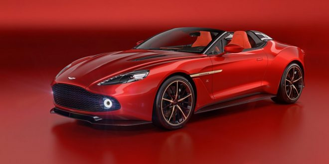 Aston Martin Vanquish Zagato Speedster and Shooting Brake uncovered
