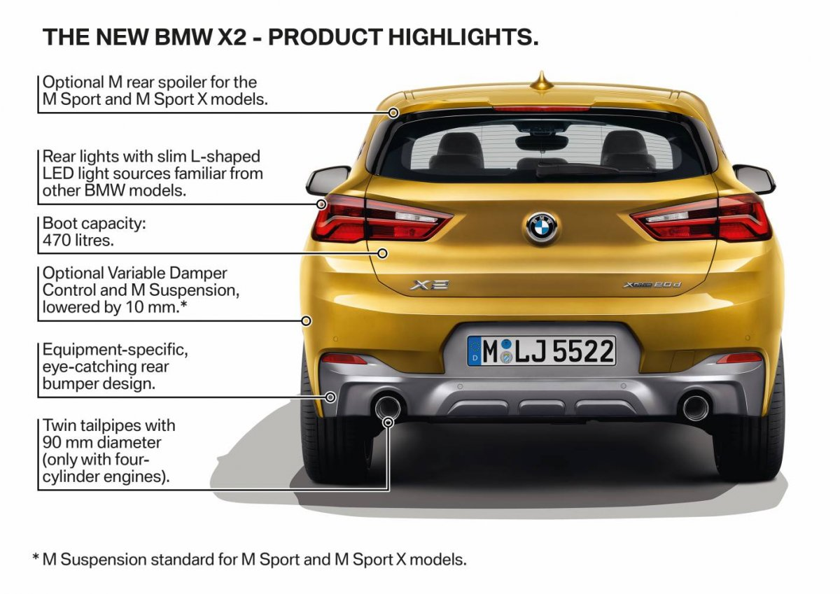 2018 Bmw X2 Design Engine Arrival >> BMW X2 goes official, arriving Q1 2018 - ForceGT.com