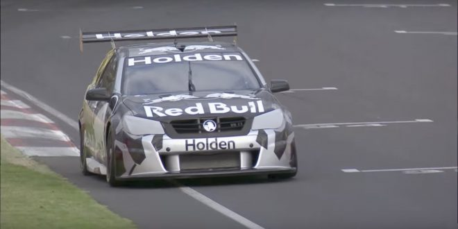 Video: Holden debuts twin-turbo V6 Supercar engine at Mt Panorama