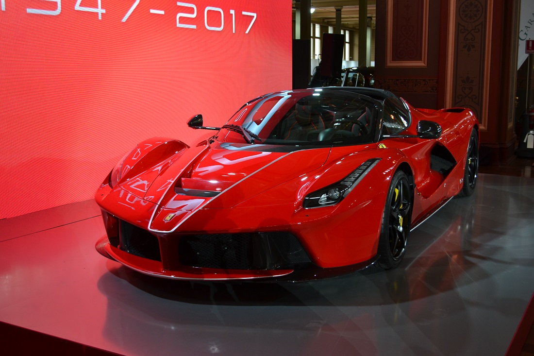 Ferrari Marks 70th Anniversary With LaFerrari Aperta At