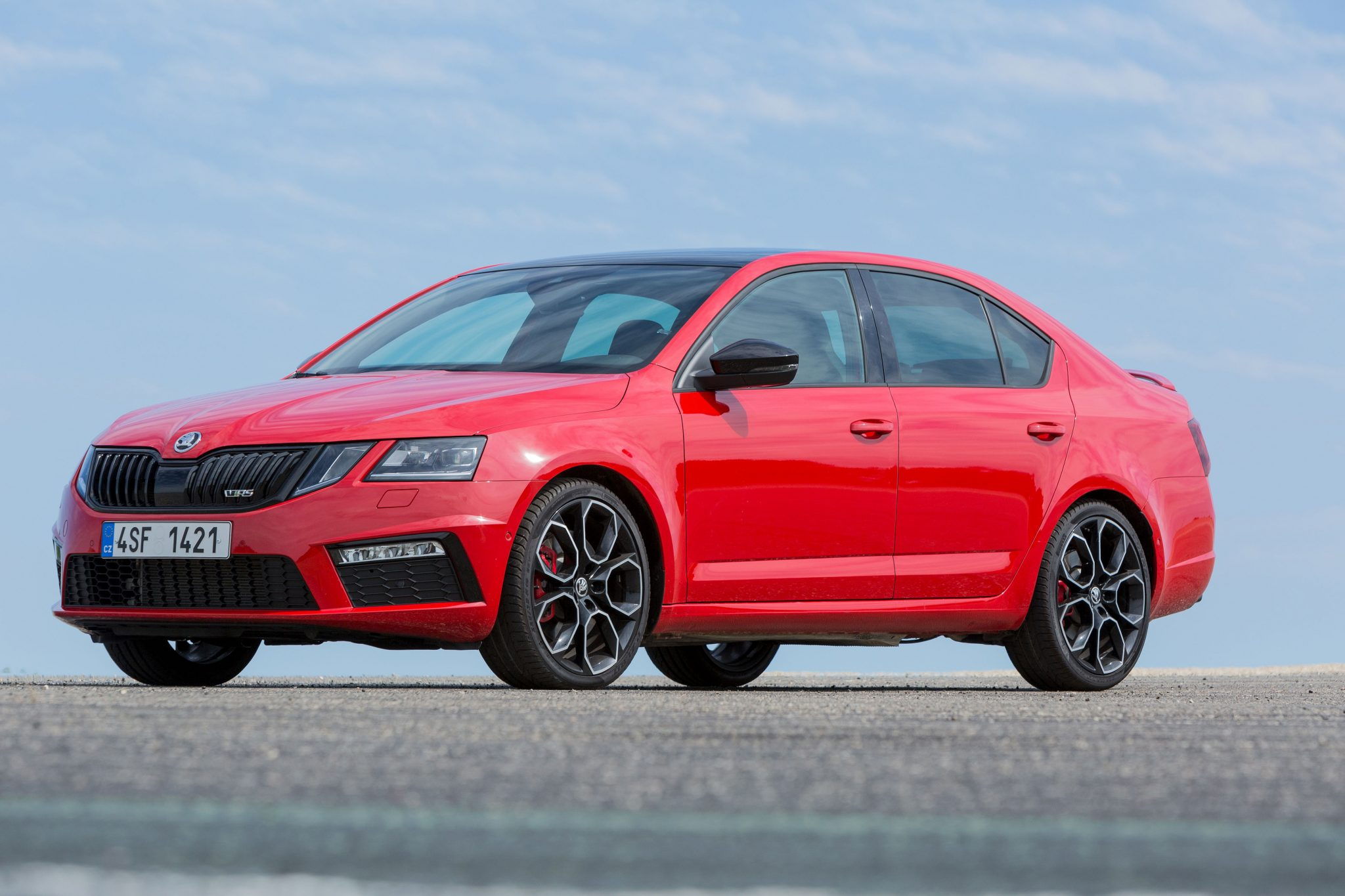 fire breathing skoda octavia rs 245 lands in australia. Black Bedroom Furniture Sets. Home Design Ideas