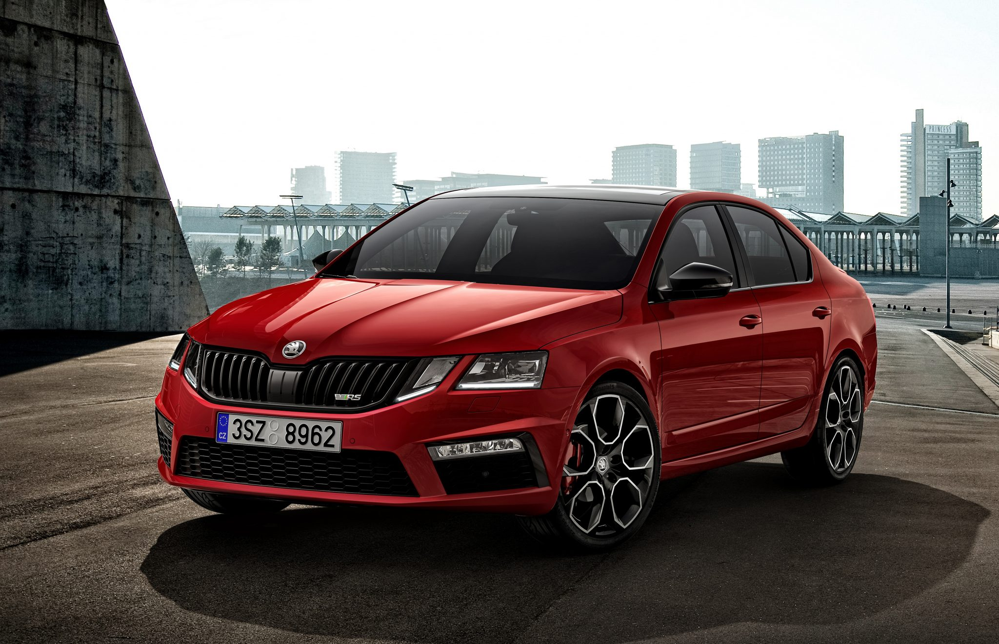 Fire Breathing Skoda Octavia Rs 245 Lands In Australia
