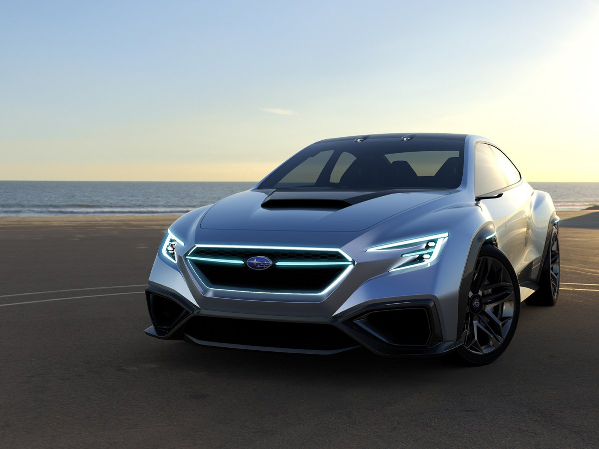 Subaru VIZIV Performance Concept previews next-gen WRX ...