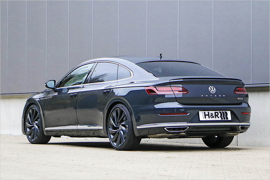 Vw Arteon Stance >> Volkswagen Arteon dropped on H&R springs and spacer package - ForceGT.com