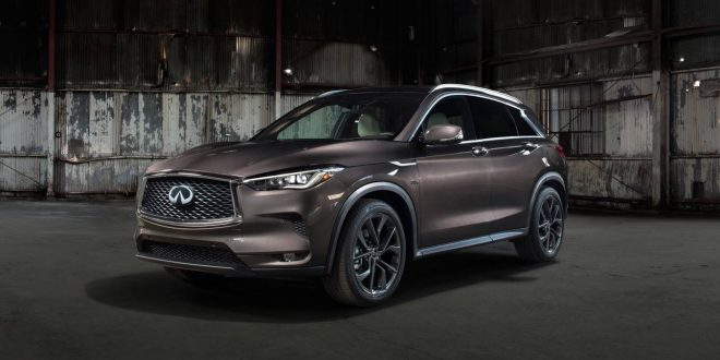 Infiniti QX50 debuts world's first Variable Compression Ratio engine