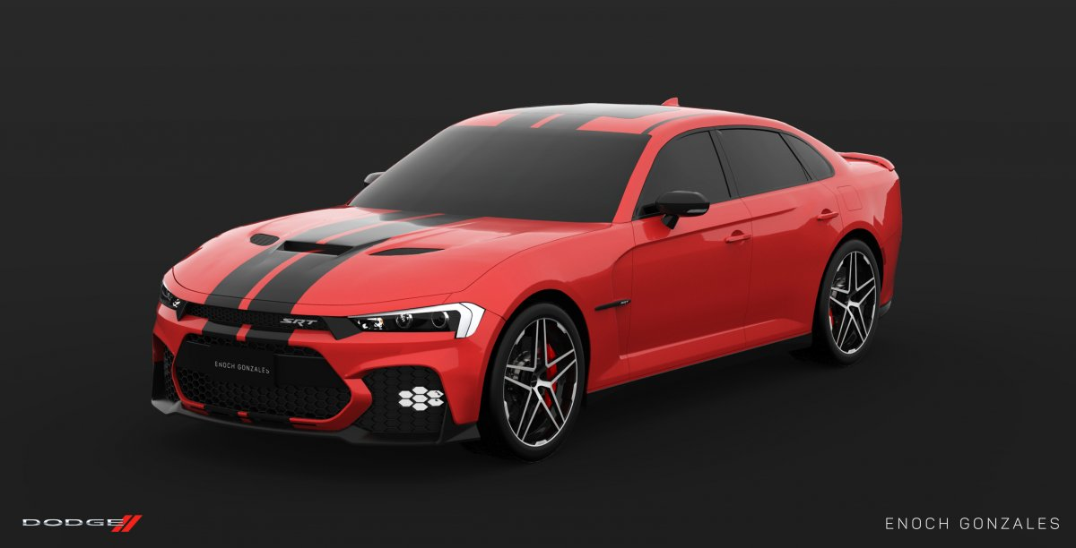 2019 Dodge Charger Srt Hellcat Super Sedan Envisioned Forcegt Com