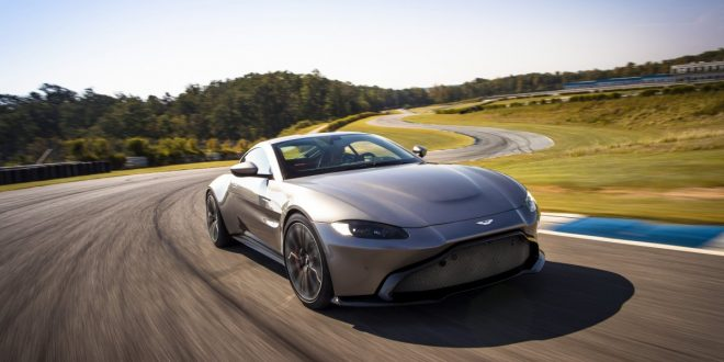 Next-Gen 2018 Aston Martin Vantage unwrapped