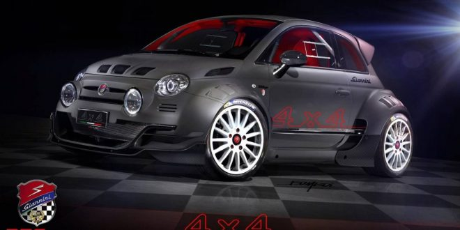 Giannini 350 GP4 is a Fiat 500 supercar on steroids