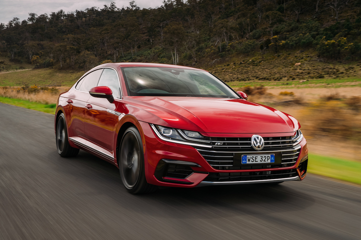 Volkswagen Launches Arteon R Line Flagship In Australia